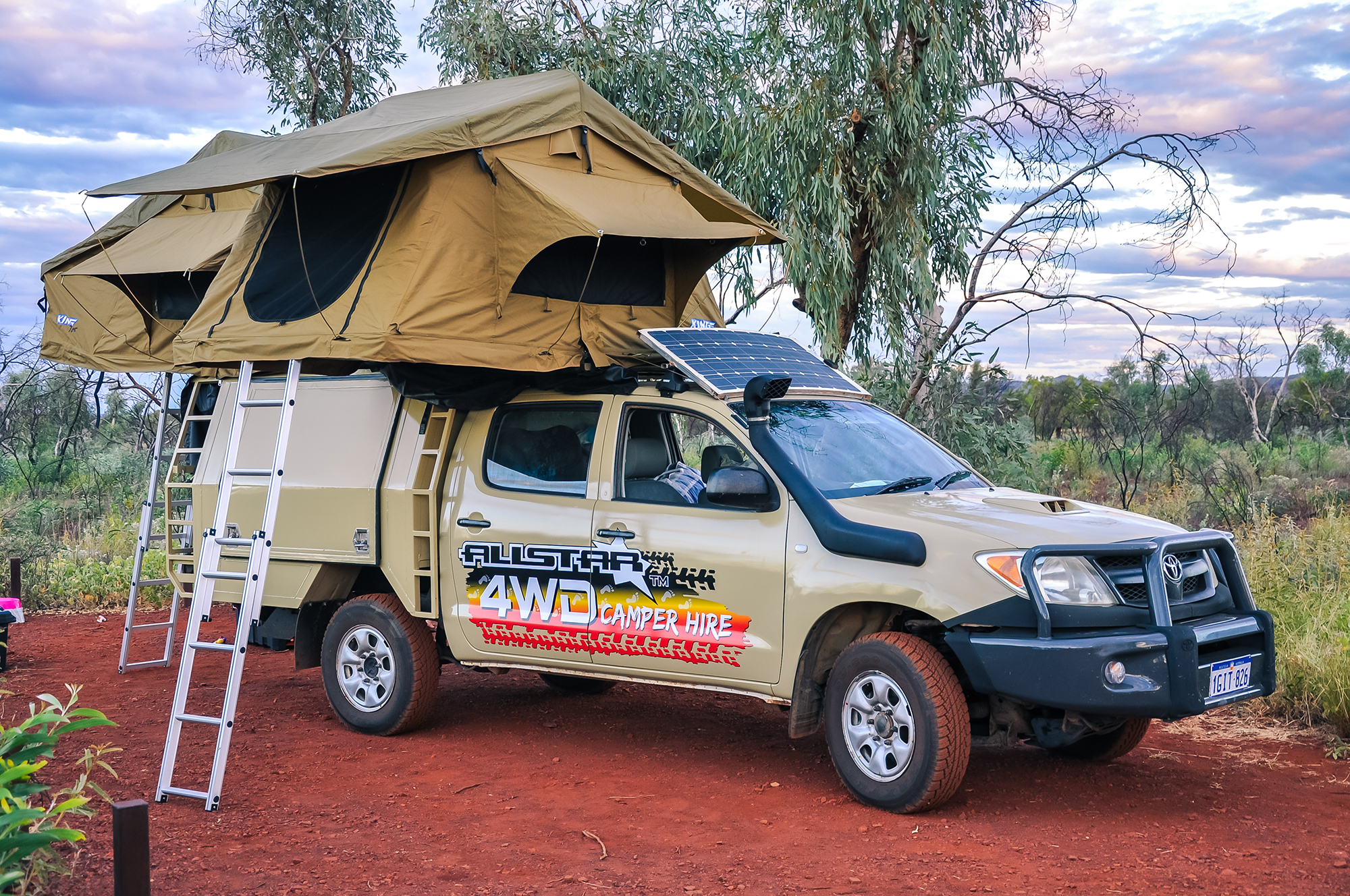 Outback camping Australia