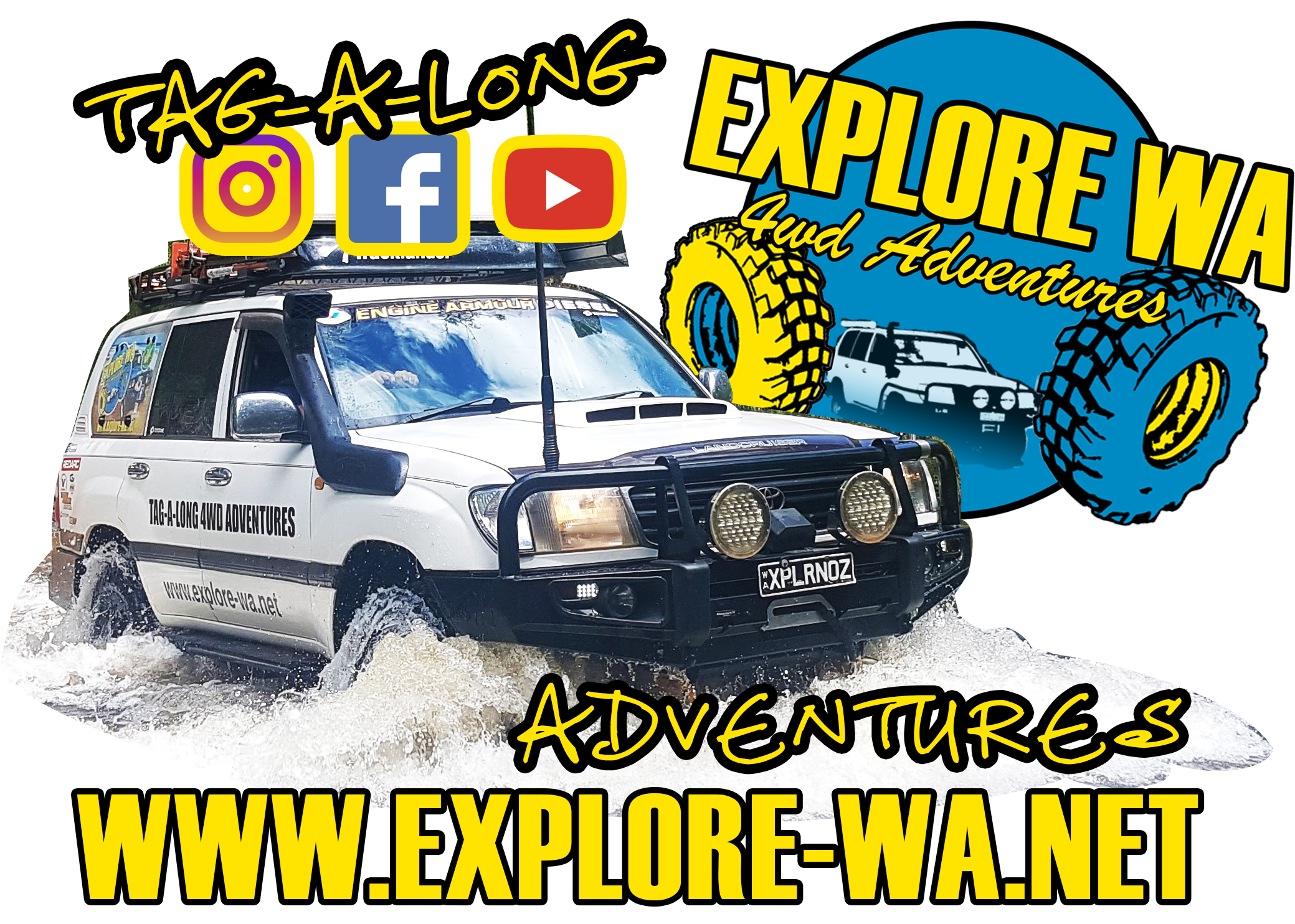 Join our freinds on tour at Explore WA 4wd