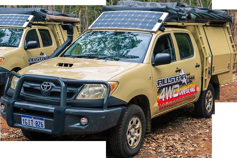 Allstar Campers Hilux Dual Cab Camper
